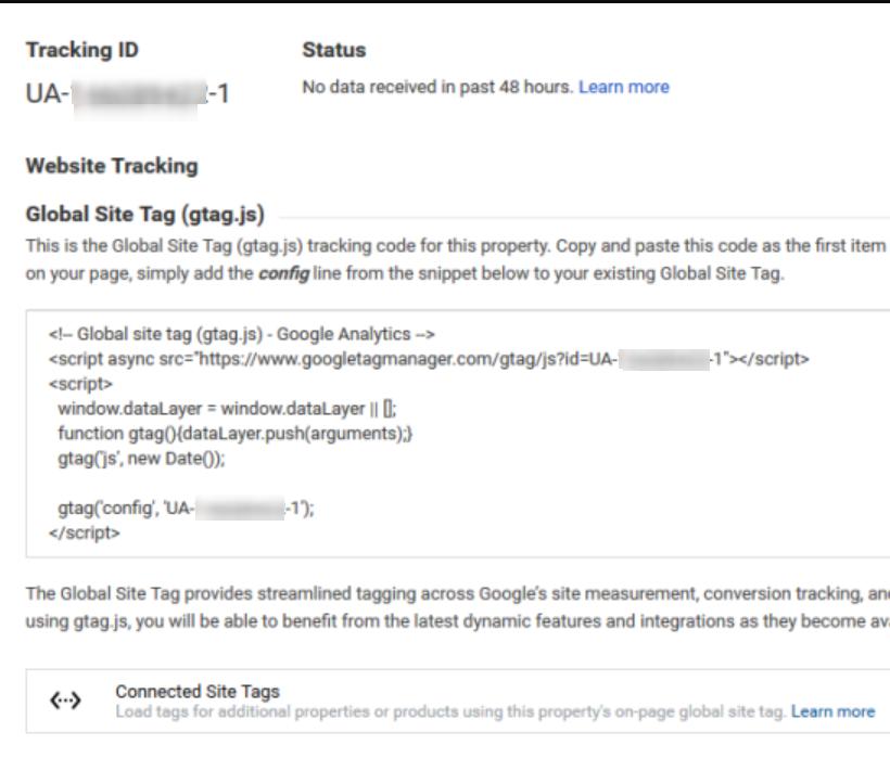 GA Tracking Code